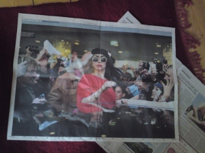 Gaga in the news