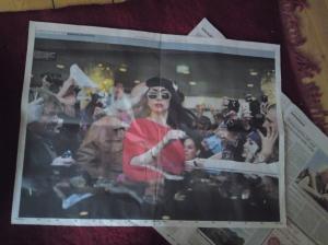 Gaga in the news