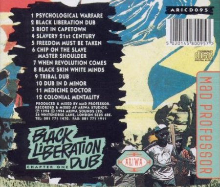 Black Liberation Dub 1back